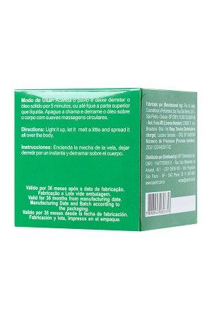 Массажная свеча для поцелуев INTT Mint с ароматом мяты, 30 мл