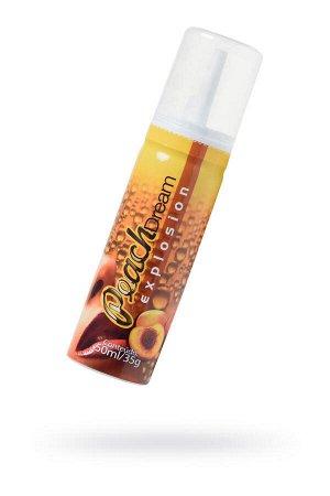 Шипучая пена INTT ANGHEL EXPLOSION PHEROS Peach для энергетического массажа с охлаждающим эффектом и