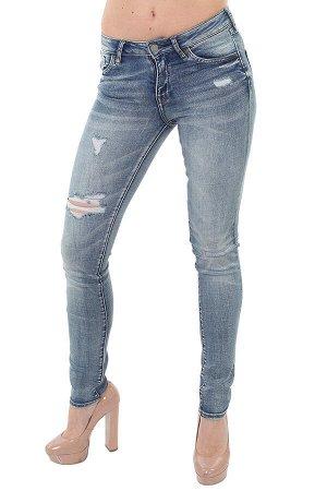 Рваные женские джинсы – свежая молодёжная линейка №127