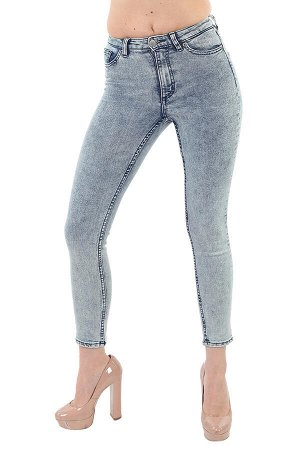 Брендовые женские джинсы Monki – укороченный тренд длиной 7/8 №255