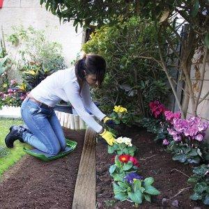 Подставка для садовых работ (зеленый) (10)