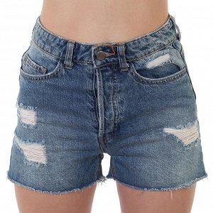 Короткие джинсовые шорты – выделяют талию, удлиняют осанку №233