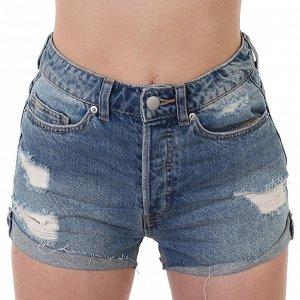 Рваные женские шорты – эффект «hand made» №208