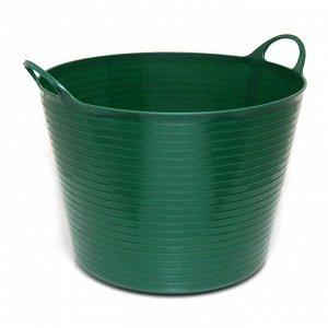 Корзина темно-зеленый 60 л