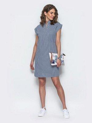 Модный остров - Платье 17378 синий