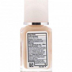 Neutrogena, Очищение кожи, нежирный макияж, классический цвет слоновой кости 10, 1 жидкая унция (30 мл)