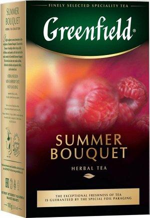 Чайный напиток Greenfield Summer Bouquet, листовой, 100 г
