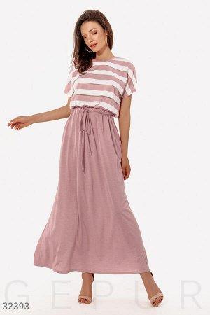 Повседневное платье-макси