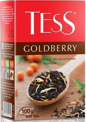 Чай Тесс Goldberry лист 100г