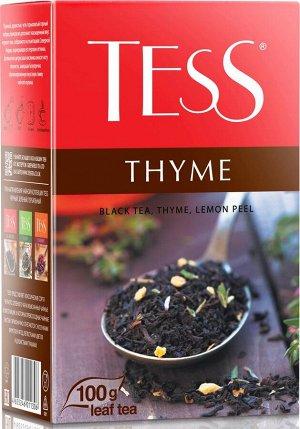 Чай Тесс Thyme лист 100г