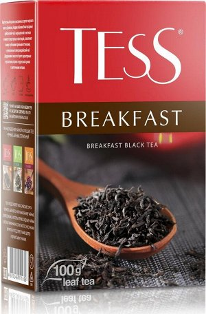Чай Тесс Breakfast лист 100г