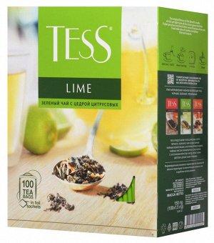 Чай Тесс Lime 100 пакетиков