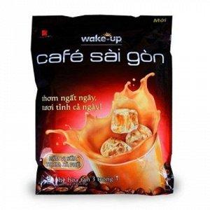 Растворимый  вьетнамский кофе  фирмы  «Wake-up  SAI GON»  3в1