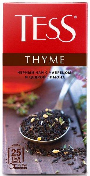 Чай Тесс Thyme tea 1,5г х 25 пакетиков