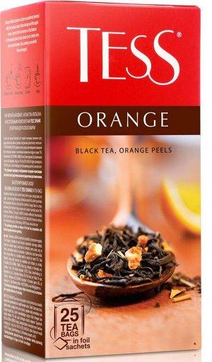 Чай Тесс Orange black tea 1,5г х 25 пакетиков