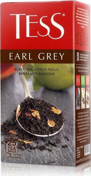 Чай Тесс Earl Grey black tea 1,8г х 25 пакетиков