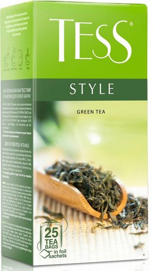 Чай Тесс Style green tea 1,8г х 25 пакетиков