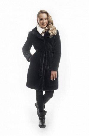 З 20 Пальто для девочки  Т.синий