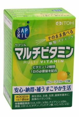 Мультивитамины Sapril, саше 30х2 гр