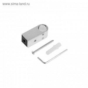 Крепеж для рейлинга HD 50.81.00, d=16 мм, цвет хром