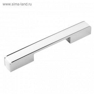 Ручка-скоба BOYARD RS266CP/W.4, 224 мм, цвет хром с белой вставкой