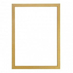 Рама для картин (зеркал) 59.4 х 84.1 х 4 см. дерево. «Версаль». цвет золотой