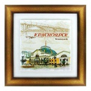 Панно интерьерное «Красноярск»