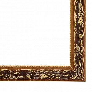 Рама для картин (зеркал) 40 х 60 х 4 см. дерево. «Версаль». цвет золотой