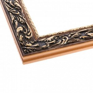 Рама для картин (зеркал) 50 х 60 х 4 см. дерево. «Версаль». цвет золотой