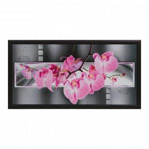 "Картина ""Розовые орхидеи"" 55х105 см"