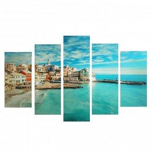 "Картина модульная на подрамнике ""Испания"" 2-25х52, 2-25х66,5, 1-25х80 см, 80*140 см"