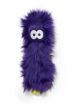 West Paw Zogoflex Rowdies игрушка плюшевая для собак Custer 10 см фиолетовая