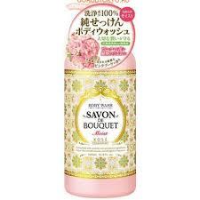 """Kose Savon De Bouquet Гель для душа увлажняющий """"Розовый букет"""" 500 мл"""