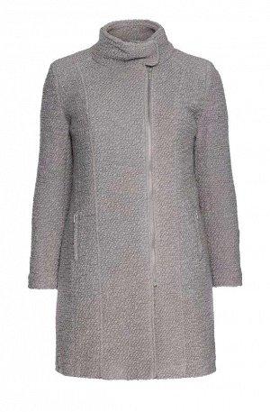 Пальто, светло-серое