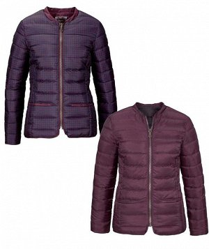 Куртка двухсторонняя, бордовая