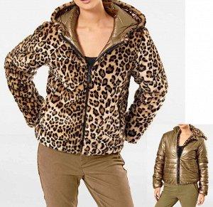 Куртка двухсторонняя, бронзовая