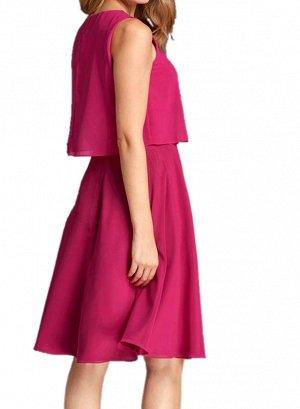 Платье, фуксия