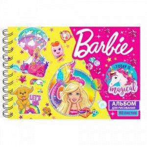 """Альбом для рисования 40 л. А4 """"Барби"""" 21*29 см."""