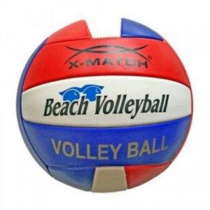 Мяч волейбольный X-Match ,2 слоя , машин. обр.