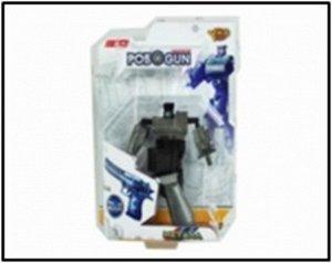 """Робот-трансформер """"Робо Gun"""" блист. 19*9 см"""