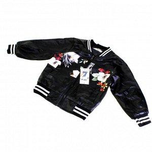 Рост 100-110 см. Детская куртка унисекс  Fliretols_Kids из эко-кожи (осень-весна).