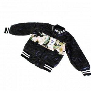 Рост 90-100 см. Детская куртка  унисекс Fliretols_Kids из эко-кожи (осень-весна).