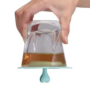 Силиконовая крышка Непроливайка на чашку