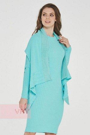 Платье женское с накидкой 182-2383