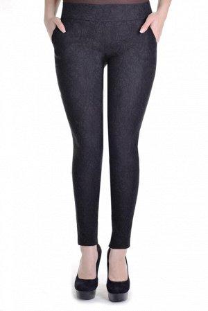 Женские брюки из жаккарда