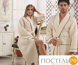 Банный халат банный Cleopatra Цвет: Кремовый. Производитель: Karna