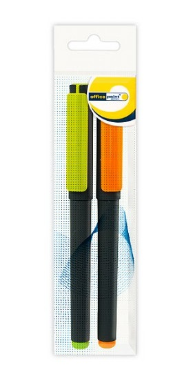 Ручка Office Point гелевая GS-652 0,7 мм 2шт/пб.син., , шт