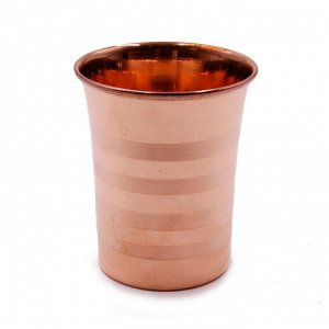 Медный стакан для настаивания медной воды d-8см h-9см 300ml