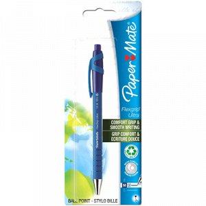 Ручка шар.P.M.Flexgrip Ultra F с кнопкой син.блистер