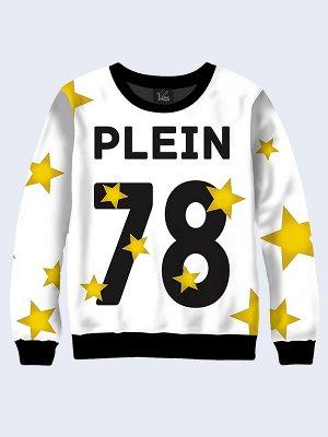 Свитшот Plein 78 жёлтые звёзды